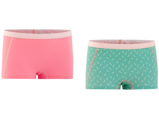 Kari Traa Bennvakker Ondergoed onderlijf Dames 2 Pieces roze/turquoise